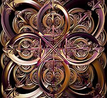 Celtic Cross by Desirée Glanville