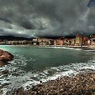 Menton, Cote d'Azur by Gyuri Nagy