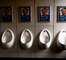 British urinal by Daniel Sorine