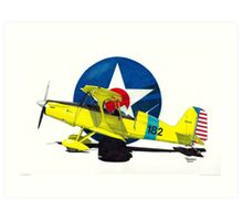 """Air Force Starduster"" Art Print"