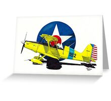 """Air Force Starduster"" Greeting Card"