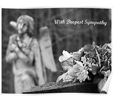 With Deepest Sympathy (Card) Poster