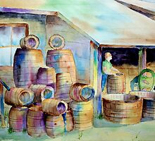 The Barrel Maker  by henrytheartist