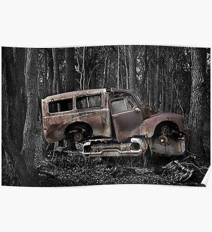Automotive Graveyard - Stacked Poster