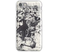 Monkey Dream #1 - Series of 5 Monotypes - iPhone Case/Skin
