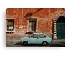 Italian Car Canvas Print