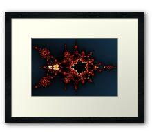 Mandelbrot Division Byways No. 10 Framed Print