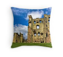 Ashby Castle ruins#1 Throw Pillow