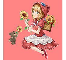 Annie sunflower art, League of legends Photographic Print