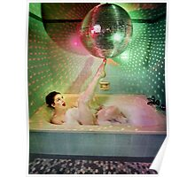Disco Bubbles Poster