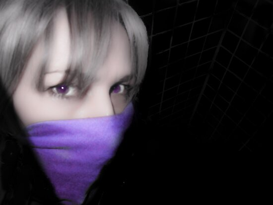 Violet Hush by Lyndy