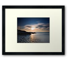 150 Seconds of Sunset Framed Print
