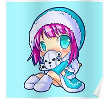 Cute frostfire Annie, League of legends Poster