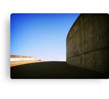Concrete curve, Montreal Canvas Print