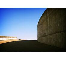 Concrete curve, Montreal Photographic Print