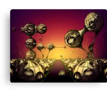 Pods On The Horizon Canvas Print