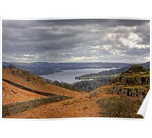 Loughrigg Fell View Poster