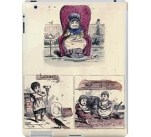 The Little Folks Painting book by George Weatherly and Kate Greenaway 0027 iPad Case/Skin