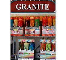 Granite Photographic Print
