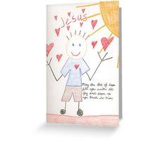 trust in him Greeting Card