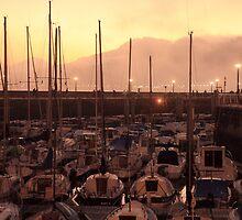 San Sebastian Sunset by metaphace