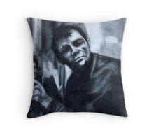 Jack Kerouac Throw Pillow