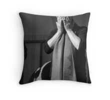 Mayday Singer Throw Pillow