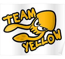 SPLATOON TEAM YELLOW Poster