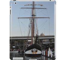 "Tall Ship ""Oosterschelde"", Sydney, Australia 2013 iPad Case/Skin"