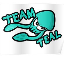 SPLATOON TEAM TEAL Poster