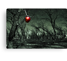 Thee Apple Canvas Print