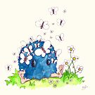 Little Blue and the butterflies by Agnew & Roberts