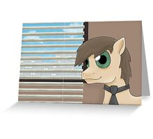 Pony Jim from the Office US Greeting Card