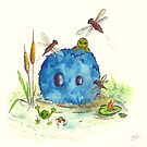 Little Blue and the frogs by Agnew & Roberts