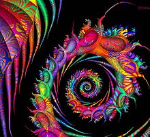 Patterned Fractal by Julie Everhart