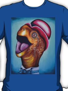 Tarquin the tortoise tarts himself up for a trip to Tesco's 380 views T-Shirt