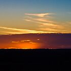 Outback sunset by therkd