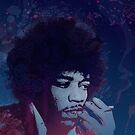 Jimi's trippin' by Damian King