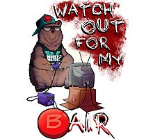 Watch out for my B air  Photographic Print