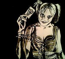 Harley Quinn - Arkham City by Luke Tomlinson