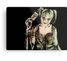 Harley Quinn - Arkham City Metal Print