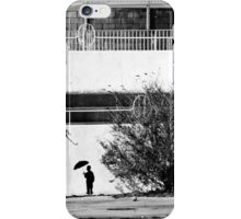 The Umbrella Man iPhone Case/Skin