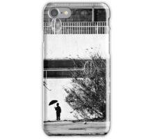 The Umbrella Man iPhone Case/Skin