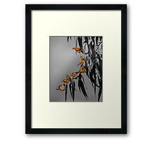 Monarch Conference Framed Print