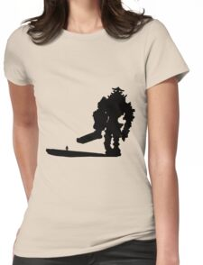 In The Shadow Womens Fitted T-Shirt