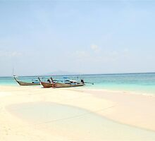 On the shores of beach near Ko Phi Phi by Emma  Taylor
