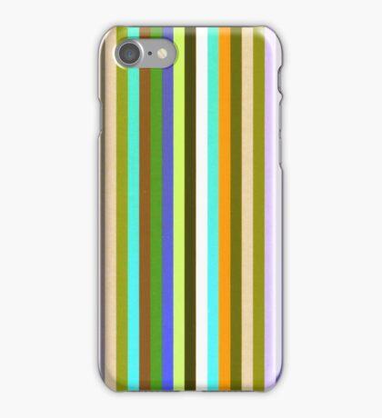 Ian's Stripey Yellow 2 iPhone Case/Skin