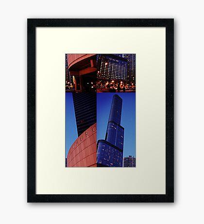 Skyscraper Offset Framed Print