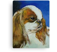English Toy Spaniel Canvas Print