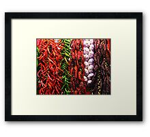 Chilipeppers Framed Print